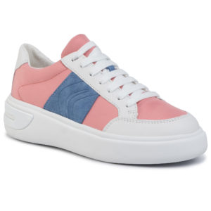 Sneakers GEOX – D Ottaya F D92BYF 01185 C7204 Coral/White