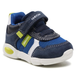 Sneakers GEOX – B Pillow B. A B154EA 02214 C0749 Navy/Lime